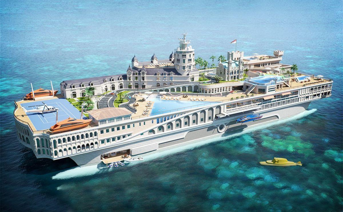 STREETS OF MONACO Yacht - $1.1 BILLION