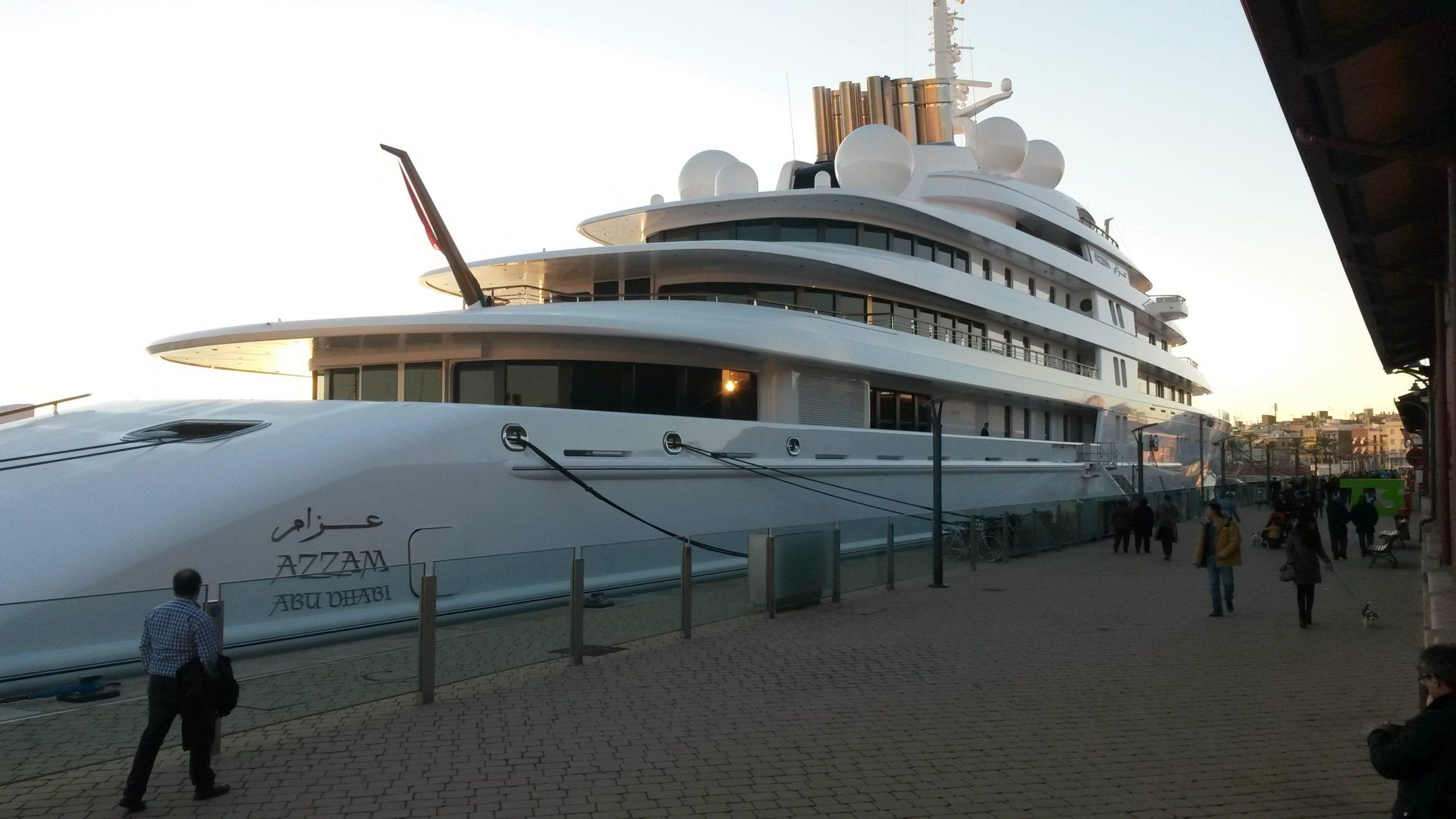 AZZAM Yacht - $600 MILLION